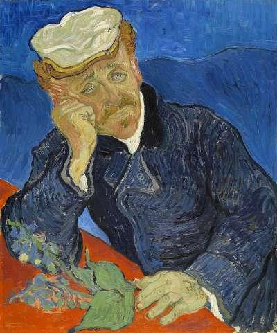 《嘉舍醫師的畫像》,現藏於法國奧塞美術館(Wikipedia/Public Domain)