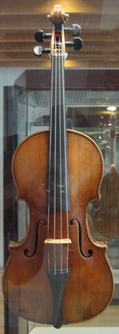 史特拉底瓦里的小提琴(圖/大是文化提供)