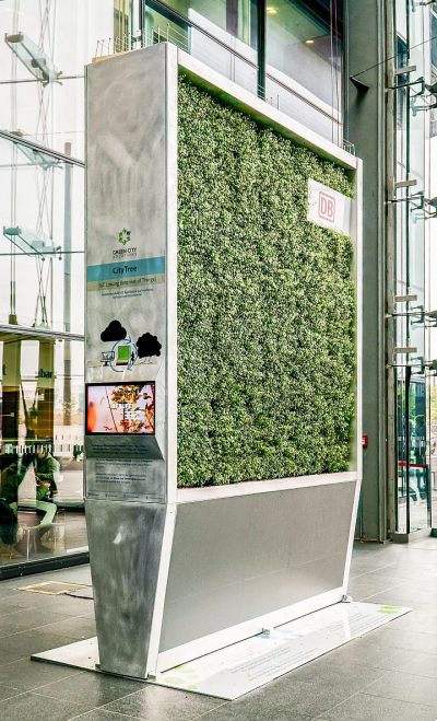 瘦身版的 City Tree,適合用於空間、高度更擁擠的場所。(圖/翻攝自 IFL Science)