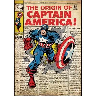 《美國隊長》漫畫創刊號。(圖/愛范兒提供)