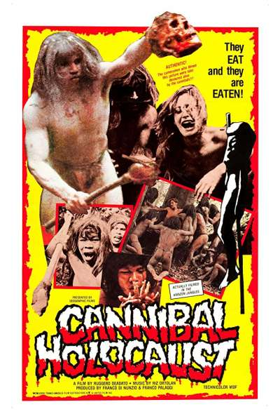 《食人族大屠殺》(Cannibal Holocaust,1980)(圖/取自IMDB)