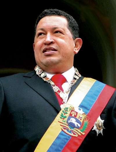 委內瑞拉前獨裁總統查維茲(Hugo Chávez)。(wikipedia/public domain)