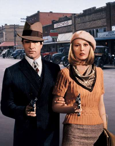 《我倆沒有明天》(Bonnie and Clyde)劇照。(圖/取自 IMDB)