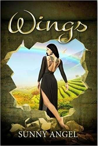 安琪的回憶錄《羽翼》(Wings)描述她被迫結婚的悲慘經歷(取自Amazon.com)