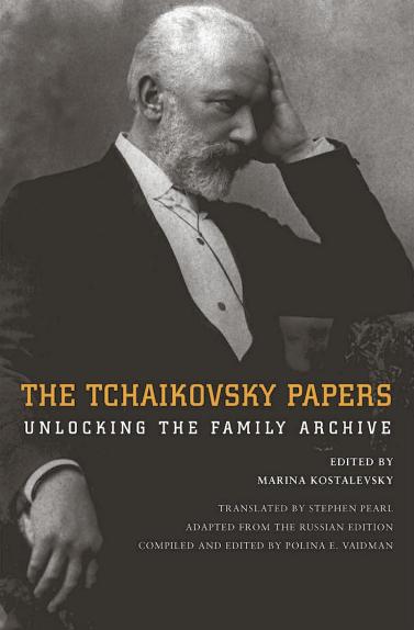 美國耶魯出版社新書《柴可夫斯基書信集:揭開家族檔案》揭開這位偉大作曲家的內心世界(取自Amazon.com)