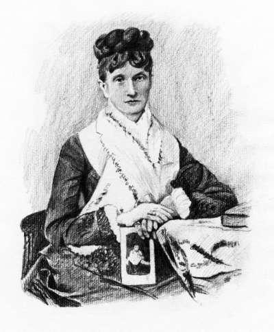 長年資助柴可夫斯基的梅克夫人(Wikipedia/Public Domain)