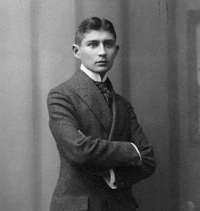 1906年,約23歲的卡夫卡(Wikipedia/Public Domain)