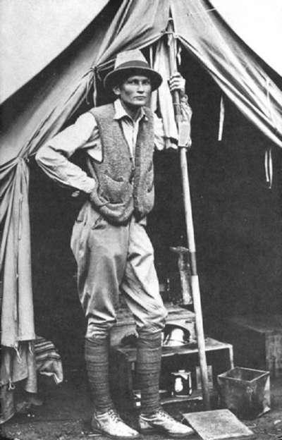 1912年,賓漢三世在馬丘比丘附近紮營(Wikipedia/Public Domain)