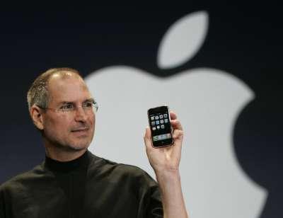 2007年,蘋果,賈伯斯,iPhone(AP)