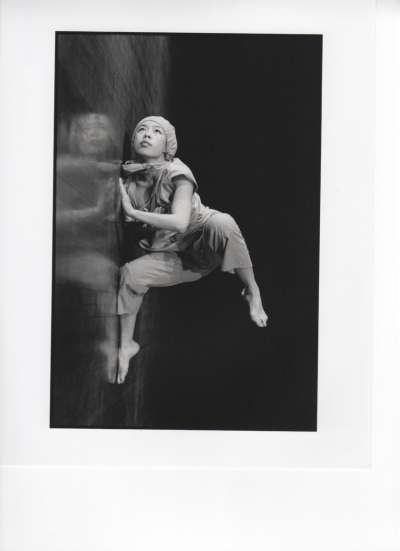 20180814-(邱坤良)古名伸1992年獨舞作品「我曾經是一個編舞者」為在台灣發表的第一支即興舞作。(鄧玉麟攝,邱坤良提供)-古名伸