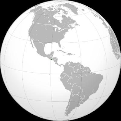 薩爾瓦多位置。(Eddo@Wikipedia/CC BY-SA 3.0)