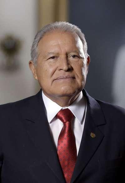 薩爾瓦多現任總統薩爾瓦多·桑切斯·塞倫。(Cadena 12@Wikipedia/CC0)