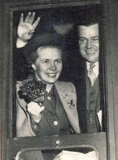 瑞典的貢納.繆達爾和阿爾娃.繆達爾是諾貝爾獎得主夫妻檔。(維基百科公有領域)