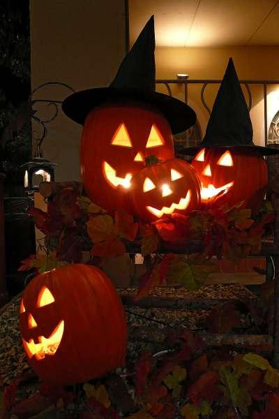 南瓜燈是美國萬聖夜文化的重要象徵。(663highland@Wikipedia/CC BY 2.5 )