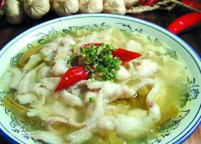 酸菜魚湯(取自網路)
