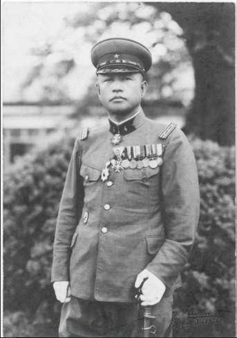 1934年,大佐石原莞爾。(維基百科)