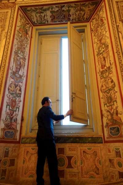 開啟一扇博物館的窗。(曾廣儀攝)