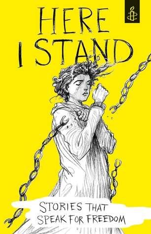 2016年國際特赦組織青少年小說選集《我站在這裡》(取自www.amazon.com)