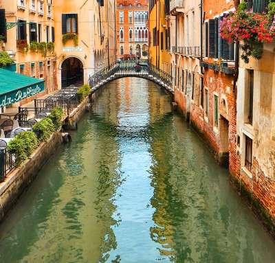 浪漫的威尼斯水道(圖/網路截圖)