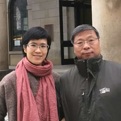 盧廣與徐小莉。(翻攝徐小莉推特)