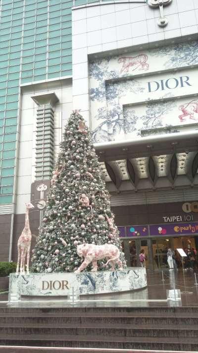 台北101耶誕樹(圖/謝幸吟提供)