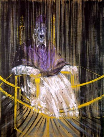 Francis Bacon《Study after Velázquez's Portrait of Pope Innocent X》(圖/城市美學新態度)