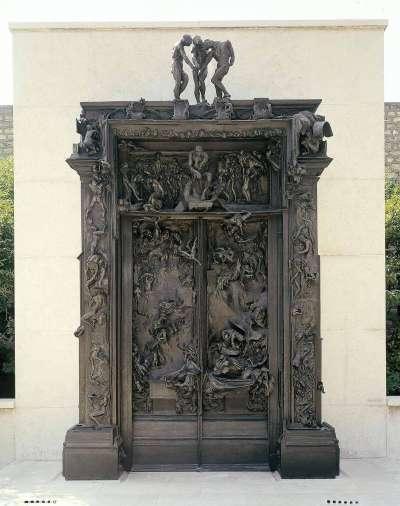 羅丹作品:地獄門(The Gates of Hell)。(圖/城市美學新態度)