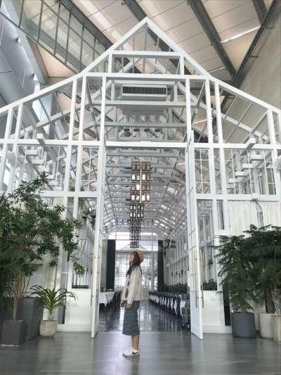 The Sky Farm是間位於50層樓高的景觀咖啡廳,平常也做婚禮場地用。(圖/kkday)