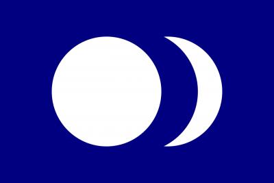 台灣共和國臨時政府國旗(圖/維基百科)