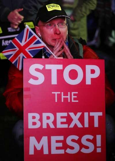 英國脫歐。(美聯社)