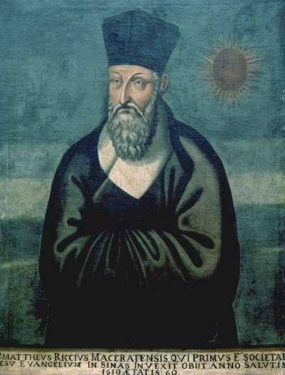 例如,耶穌會傳教士利瑪竇,出生於現今義大利地區,離家遠赴印度、中國傳教。(圖/維基百科,研之有物)