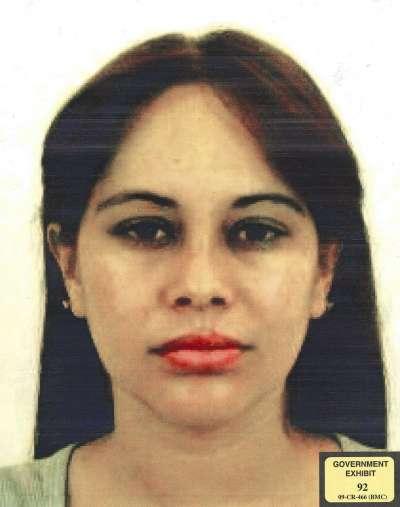 墨西哥頭號毒梟「矮子」古茲曼的前情婦桑契茲(Lucero Guadalupe Sánchez López)。(AP)
