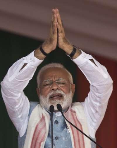 印度總理莫迪(AP)