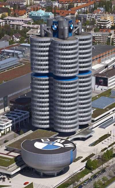 BMW位於德國慕尼黑的企業總部。(Diego Delso@Wikipedia/CC BY-SA 3.0)