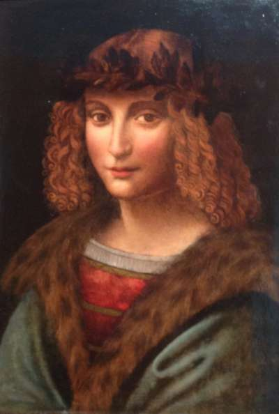達文西學徒沙萊(Gian Giacomo Caprotti da Oreno,Salaì)肖像。(Wikipedia / Public Domain)