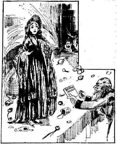 一幅插圖描繪露西.史東發表演說時,遭到聽眾丟腐爛的蔬菜,還有男性朝她噴水(Wikipedia/Public Domain)