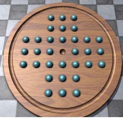 孔明棋是類似跳棋的遊戲(圖/百度百科)