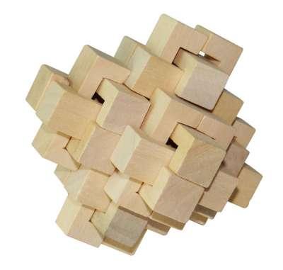 孔明鎖,也可以稱做魯班鎖,十分受歡迎的益智玩具(圖/百度百科)