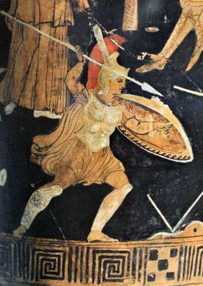 阿基里斯是希臘神話中的第一勇士,在特洛伊戰爭中百戰百勝。(圖片取自維基百科)
