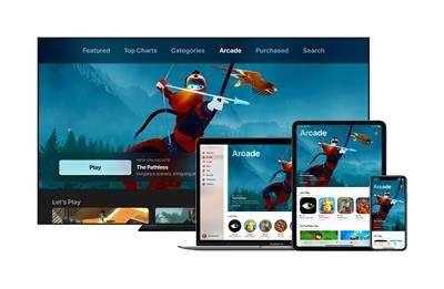 Apple Arcade是蘋果推出的訂閱制網路平台。(美聯社)