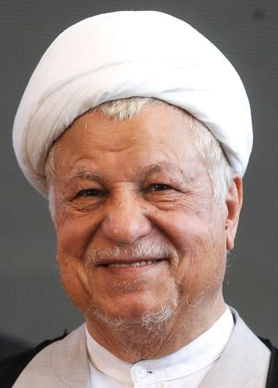 20190418-前伊朗總統阿克巴爾.哈什米.拉夫桑雅尼。(取自維基百科)