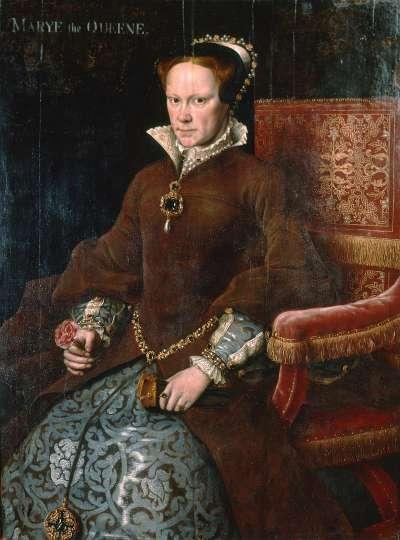 瑪麗是亨利八世和第一任妻子凱瑟琳王后唯一活下來的孩子。(圖片取自維基百科)