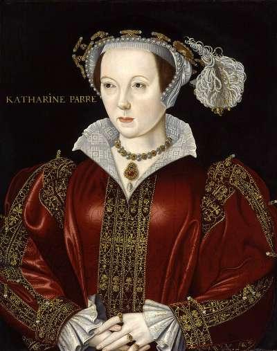亨利八世的第六任妻子凱薩琳·帕爾。(圖片取自維基百科)