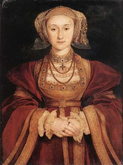 亨利八世的第四任妻子克里維斯的安妮。(圖片取自維基百科)