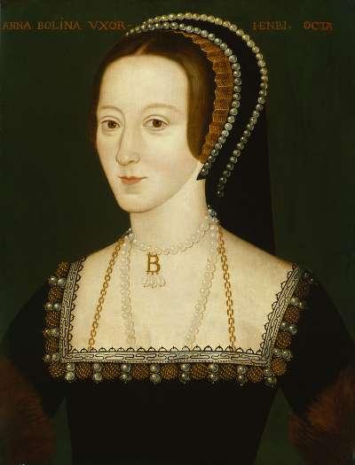 亨利八世的第二任妻子安妮·博林。(圖片取自維基百科)