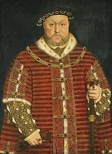 亨利八世。(圖片取自維基百科)