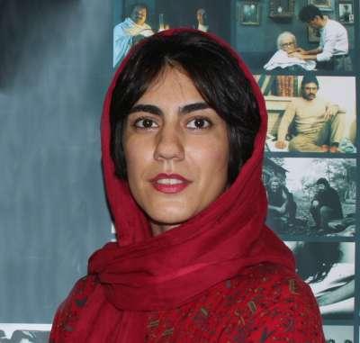 伊朗導演兼策展人葛爾瑪卡尼(照片:一部電影,一個旅程提供)