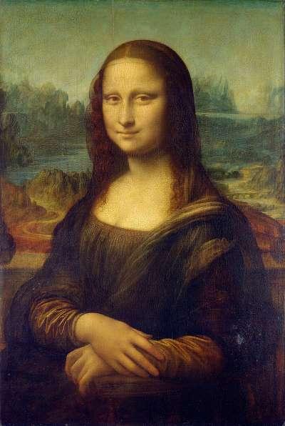 達文西知名畫作《蒙娜麗莎》(Public Domain/Wikipedia)