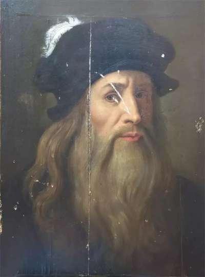 達文西自畫像(Public Domain/Wikipedia)