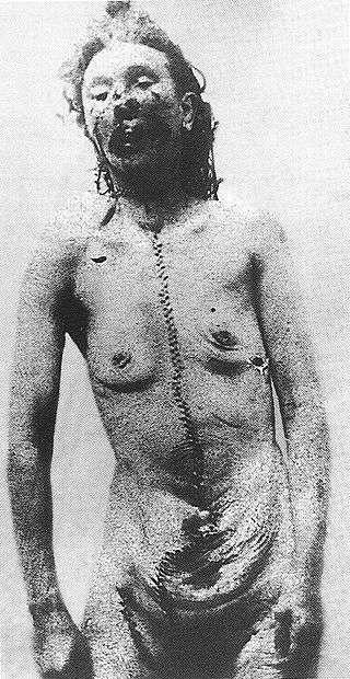 第四名被害者凱撒琳·愛道斯的模擬畫。(圖片取自維基百科)